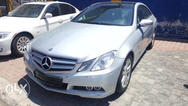 2010 Mercedes E 250 Coupe Excellent Condition