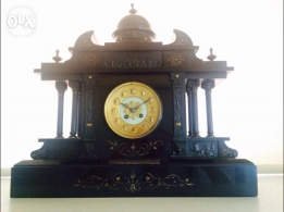Antique Clock (1909) full stone and marble