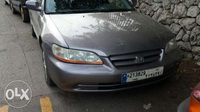 Honda accord model 2000