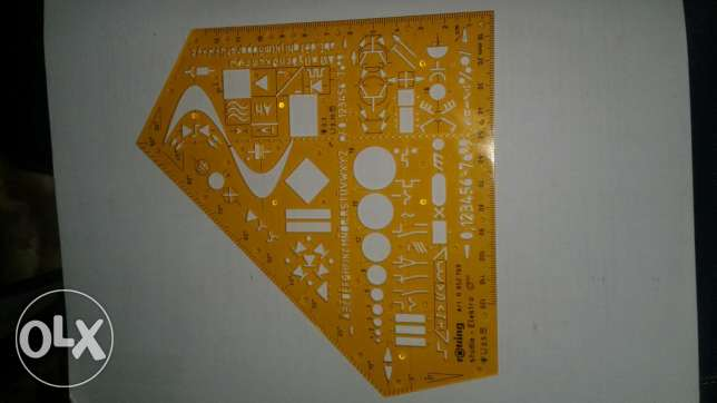 Sinwave ruler for electric engineers