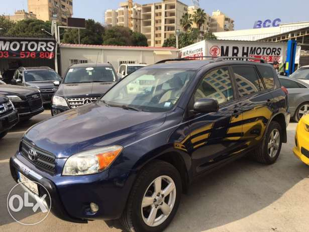 Toyota Rav4 2006 Blue Fully Automatic