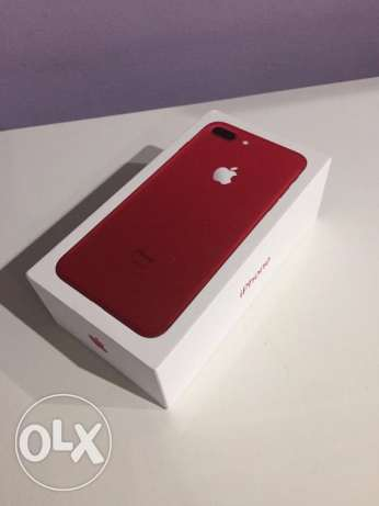 brand new apple iphone 7 plus red edition 32gb