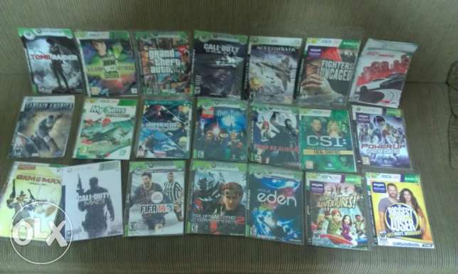 Xbox 360 games for sale or trade.