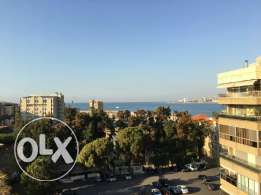 3 bedrooms duplex with sea view and indoor parking in jounieh