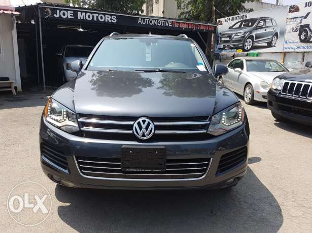 Super clean touareg just arrived today clean carfax history