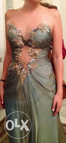 Custom made evening dress راس  بيروت -  1