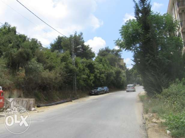 Land 1078 sqm for sale in Yarze Baabda