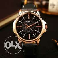Luxury men watch Quartz