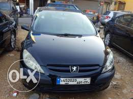 2003 Peugeot 307 Black/Grey Automatic A/C Full