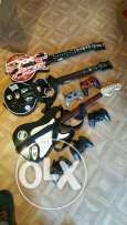ps3 /4 wireless guitars and controllers