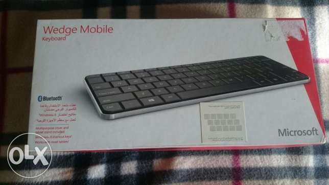 Microsoft Wedge mobile wireless keyboard for Windows, Mac ,Android