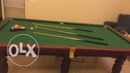 billiard table in great condition