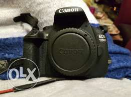 barely used 3 weeks like new 1200d cam
