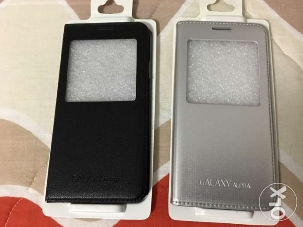 original & very classy Smart Cover SAMSUNG GALAXY ALPHA