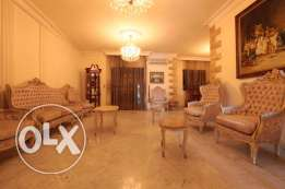 Spacious Apartment with Terrace in Hazmieh