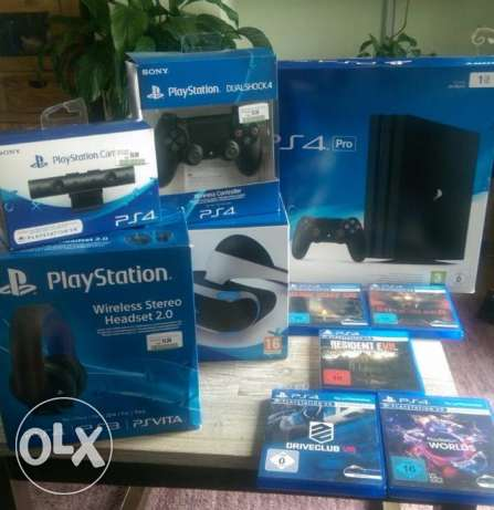 playstation 4 with VRC