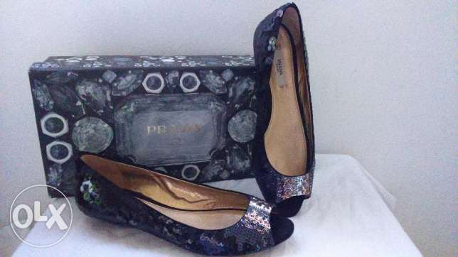 Original Prada Sequin Pumps راس  بيروت -  2
