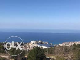 Good Location Land In Halat with Outstanding Sea View.