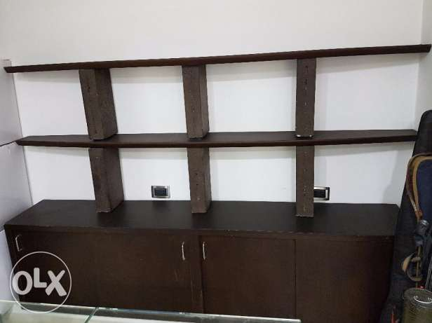 2 Shelves with base Cabinet