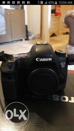 6d canon like new غبيري -  3