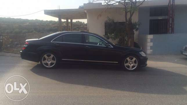 mercedes s350 L look AMG, with plate number 97097 راس  بيروت -  2