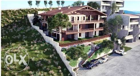 Ag-577-17 Chalet for Sale at Zaarour Club, 86m2