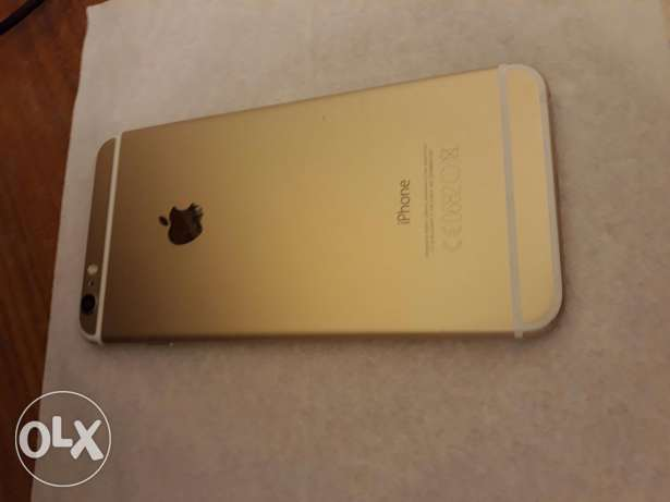 IPhone 6 plus 64 gold مصطبة -  2