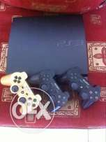 ps3 with 6cds and 3controllers