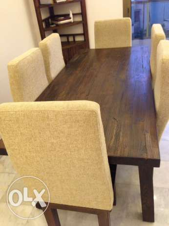 dining table original massive wood
