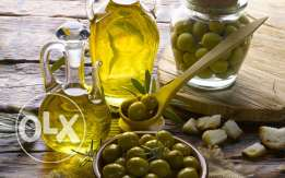 Extra virgin olive oil fresh and new