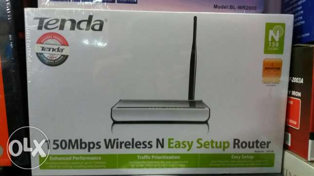 Tenda Router wireless N150 برج البراجنة -  1