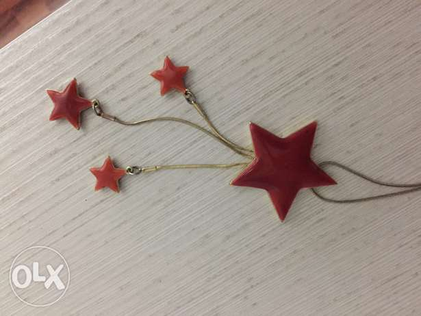 stars necklace مصطبة -  1
