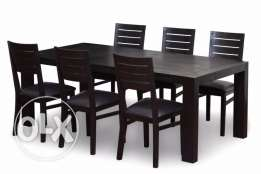 Dining table - 8 chairs