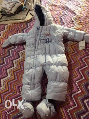 New mothercare baby overall jacket
