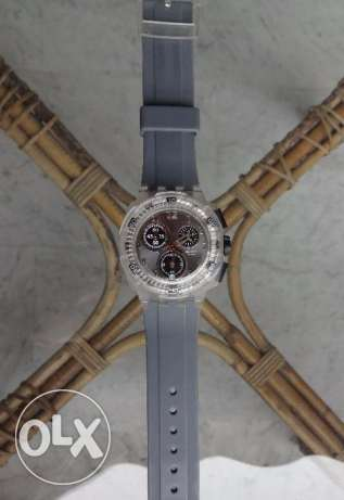 SWATCH Grey Chronograph Watch