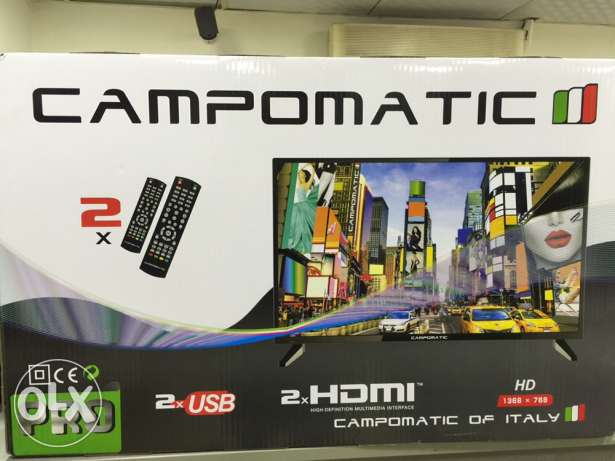 new tv-Campomatic