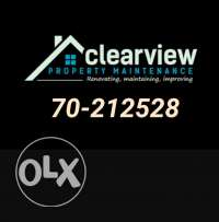 Clearview- renovations & maintenance