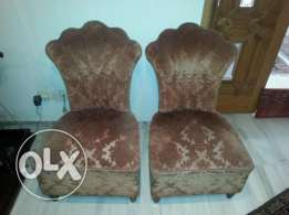 2 sofa chairs - vintage
