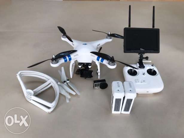 dji phantom 2 and gopro 4
