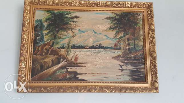 Good condition antique painting