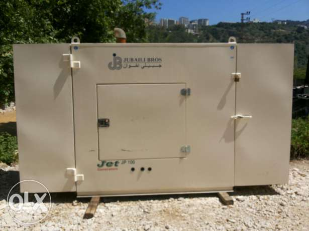 Generator perkins 100 k.v.a used 1400 hours