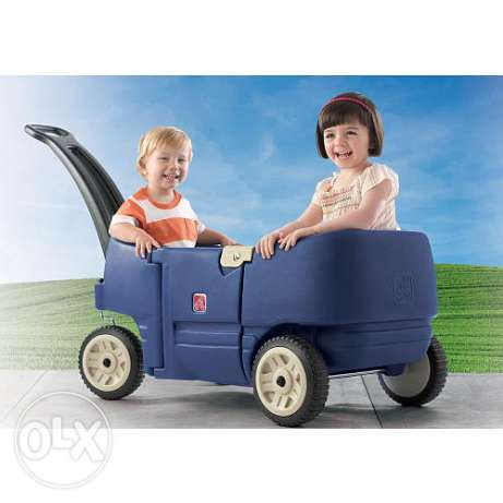 Step2 Wagon for Two Plus - Denim for only 120$ original price 300$
