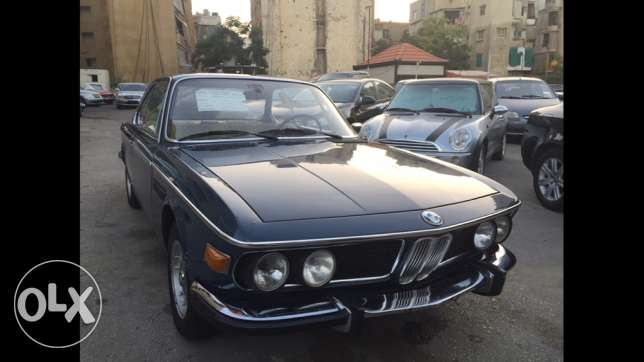 1970 BMW 2800CS ajnabiyi