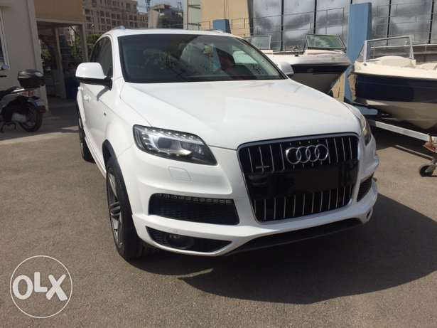 Audi Q7 supercharge 3.0 ajnabieh original low km