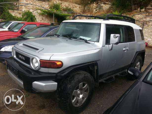 Jbeil Fj cruiser silver & black full options brand new