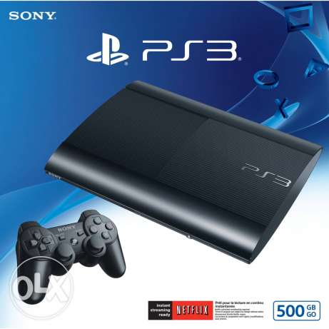 ps3 500 gb black انطلياس -  1