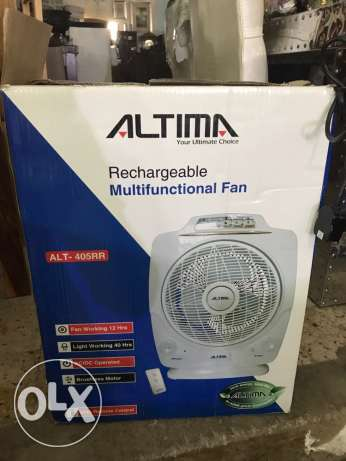 rechargeable multifunctional fan