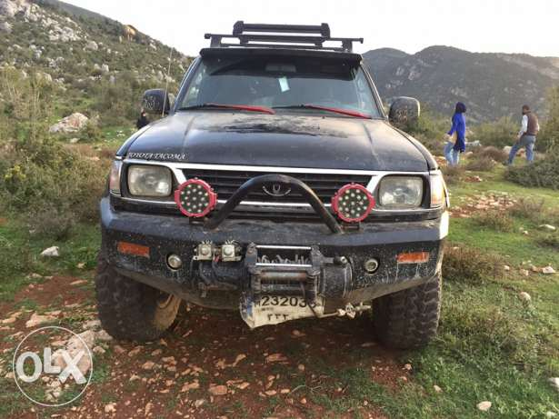 Toyota Tacoma 4x4 with new tyre