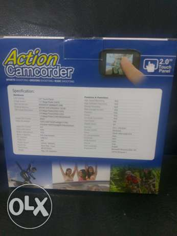 Action camcorder