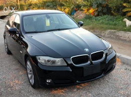 2009 BMW 328i Black with Gray leather